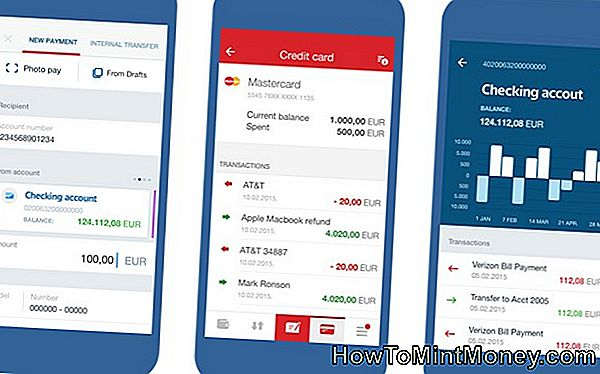 Smartphone Financial Apps Gør Banking lettere