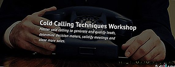 Cold Calling Workshop novembris
